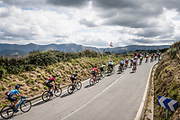 breakaway group <br /> <br /> Stage 13: Bilbao to Los Machucos to Monumento Vaca Pasiega (166km)<br /> La Vuelta 2019<br /> <br /> ©kramon