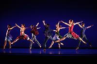 Richard Alston Dance Company<br /> dance Gypsy Mixture as part of the Richard Alston Dance Company's performance at Sadler's Wells, London. <br /> <br /> <br /> ©Ash Knotek  D3282  16/06/2017