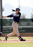 Matt Clark / San Diego Padres 2008 Instructional League..Photo by:  Bill Mitchell/Four Seam Images