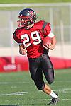 Palos Verdes, CA 11/10/10 - Matt Lopes(Palos Verdes # 29)  in action during the junior varsity football game between Peninsula and Palos Verdes at Palos Verdes High School.