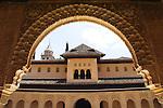 Patio de los Leones, Alhambra, Granada (Stadt), Andalusien, Spanien