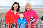 Helena Kelliher, Shane Kelliher and Katie O'Connor (all Caragh Lake) pictured at Glenbeigh races on Sunday last.