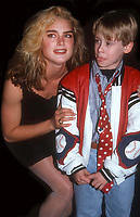 Macauley Culkin Brooke Shields 1990<br /> Photo By John Barrett/PHOTOlink