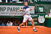 Diego Schwartzman of Argentina during Day 11 of the French Open 2018 on June 6, 2018 in Paris, France. (Photo by Dave Winter/Icon Sport)