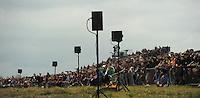 Historische GEFECHTSDARSTELLUNG ZUM 200. JUBILÄUM DER VÖLKERSCHLACHT am 18. Oktober 1813 BEI LEIPZIG in Markkleeberg. Über 6000 Darsteller wirken bei dem Reenactment mit.<br /> <br />  Foto: Norman Rembarz