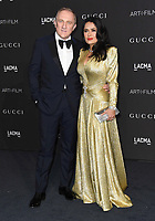 03 November 2018 - Los Angeles, California - Francois-Henri Pinault, Salma Hayek Pinault. 2018 LACMA Art + Film Gala held at LACMA.  <br /> CAP/ADM/BT<br /> &copy;BT/ADM/Capital Pictures