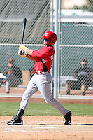 Alex Oliveras, Cincinnati Reds 2010 minor league spring training..Photo by:  Bill Mitchell/Four Seam Images.