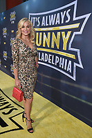 """HOLLYWOOD - SEPTEMBER 24: Jessica Collins attends the red carpet premiere event for FXX's """"It's Always Sunny in Philadelphia"""" Season 14 at TCL Chinese 6 Theatres on September 24, 2019 in Hollywood, California. (Photo by Stewart Cook/FXX/PictureGroup)"""