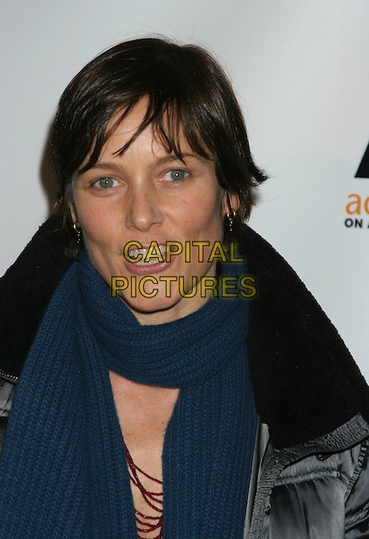 "CAREY LOWELL .""Gypsy of Chelsea"" Premiere at Studio 54 in New York.December 12th, 2005.Ref: IW.headshot portrait blue scarf.www.capitalpictures.com.sales@capitalpictures.com.©Capital Pictures"