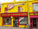 ENGLAND, Brighton,  The Guitar Store on north Road