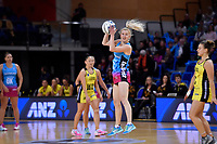 Steel's Shannon Francois in action during the ANZ Premiership - Pulse v Steel at Te Rauparaha Arena, Porirua, New Zealand on Wednesday 30 May 2018.<br /> Photo by Masanori Udagawa. <br /> www.photowellington.photoshelter.com