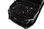 Car stock 2020 Toyota Avalon Touring 4 Door Sedan engine high angle detail view