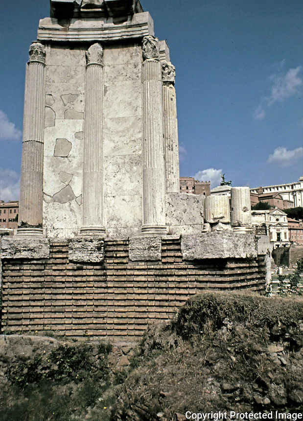 Temple of Vesta, Roman Forum, Rome Italy