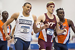 COLLEGE STATION, TX - MARCH 11: Isaiah Harris of Penn State and Drew Piazza of Virginia Tech compete in the 800 meter run during the Division I Men's and Women's Indoor Track & Field Championship held at the Gilliam Indoor Track Stadium on the Texas A&M University campus on March 11, 2017 in College Station, Texas. (Photo by Michael Starghill/NCAA Photos/NCAA Photos via Getty Images)