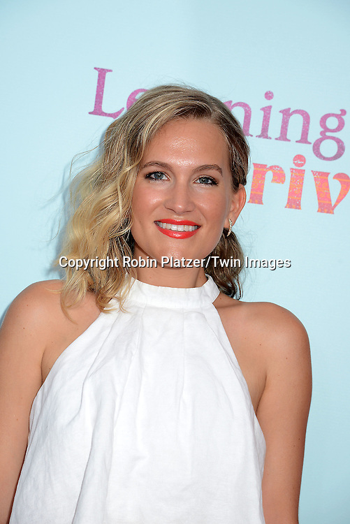 Lora Lee Gayer attends the NewYork VIP Premiere of &quot;Learning to Drive&quot;<br /> on August 17, 2015 at The Paris Theatre in New York City, New York, USA. <br /> <br /> photo by Robin Platzer/Twin Images<br />  <br /> phone number 212-935-0770