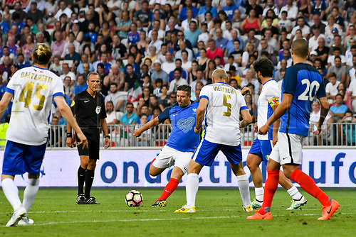 June 17th 2017; Allianz Riviera, Nice, France; Legends football international, France versus Italy;  Vincent Candella (France)