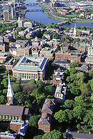 Harvard  aerial view, Cambridge, MA