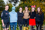 Enjoying Tralee's Run in the Park Halloween 5km fancy dress run on Saturday were l-r  Sandra Byrne, Bridget Moore, Ciara Lehane, Clodagh Byrne, Tara Byrne and Maeve Byrne.