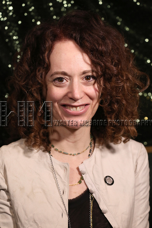 Rebecca Taichman attends the 2017 Tony Awards Meet The Nominees Press Junket at the Sofitel Hotel on May 3, 2017 in New York City.