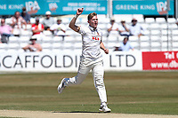 Sam Cook of Essex during Essex CCC vs Somerset CCC, Specsavers County Championship Division 1 Cricket at The Cloudfm County Ground on 27th June 2018