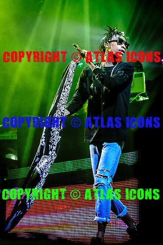 WIZ KHALIFA, LIVE, 2013, <br /> PHOTOCREDIT:  IGOR VIDYASHEV/ATLASICONS
