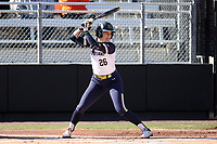 DURHAM, NC - FEBRUARY 29: Abby Sweet #26 of the University of Notre Dame waits for a pitch during a game between Notre Dame and Duke at Duke Softball Stadium on February 29, 2020 in Durham, North Carolina.