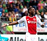 Nederland, Den Haag, 23 september  2012.Seizoen 2012/2013.Eredivisie.Ado Den Haag-Ajax.Ryan Babel van Ajax baalt van de 1-1