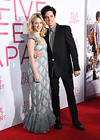 """07 March 2019 - Westwood, California - Lili Reinhart, Cole Sprouse. """"Five Feet Apart"""" Los Angeles Premiere held at the Fox Bruin Theatre. Photo Credit: Birdie Thompson/AdMedia"""