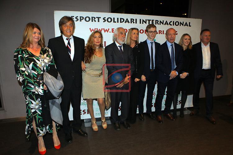 XIV Sopar Solidari de Nadal.<br /> Esport Solidari Internacional-ESI.<br /> Josep Maldonado & Steve Archibal y acompañantes.