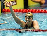 Die deutsche Schwimmerin Britta Steffen beendet ihre Karriere - Archiv aus  18.11.2007<br />  <br /> Schwimm-Welt-Cup 2007<br /> Britta Steffen<br />  <br /> <br />   <br /> Foto &copy; nph /  Schulz
