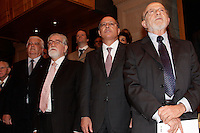 SÃO PAULO, 30 DE MAIO de 2012 - FAPESP 50 ANOS - <br /> O governador Geraldo Alckmin participou das comemorações dos 50 anos da Fapesp  - Fundação de Amparo à Pesquisa do Estado de São Paulo, na Sala São Paulo, região central da capital, quarta-feira, 30 -  FOTO LOLA OLIVEIRA - BRAZIL PHOTO PRESS