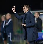 25.09.2018 Livingston v Rangers: Steven Gerrard