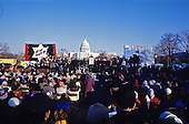 "General view of the ""Campaign to the Summit"", a march on Washington, D.C. supporting freedom for Jews living in the Soviet Union, on Sunday, December 6, 1987.  200,000 people marched to focus attention on the repression of Soviet Jewry, was scheduled a day before United States President Ronald Reagan and Soviet President Mikhail Gorbachev began a 2 day summit in Washington where they signed the Intermediate Range Nuclear Forces (INF) Treaty.<br /> Credit: Ron Sachs / CNP"