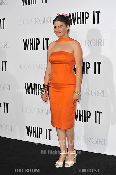 "Alia Shawkat at the Los Angeles premiere of her new movie ""Whip It"" at Grauman's Chinese Theatre, Hollywood. September 29, 2009  Los Angeles, CA.Picture: Paul Smith / Featureflash"