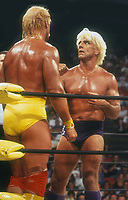 Hulk Hogan Rick Flair 1994<br /> Photo By John Barrett/PHOTOlink.net