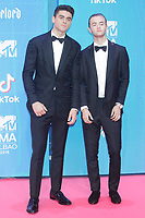 BILBAO, SPAIN-November 04: Jack and Jack attend the EMA 2018 at BEC (Bilbao Exhibition Center) in Bilbao, Spain on the 4 of November of 2018. November04, 2018.  ***NO SPAIN*** <br /> CAP/MPI/RJO<br /> &copy;RJO/MPI/Capital Pictures