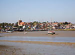 River Blackwater low tide, Maldon, Essex, England
