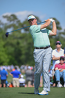 Ernie Els (RSA) watches his tee shot on 3 during round 1 of the Houston Open, Golf Club of Houston, Houston, Texas. 3/29/2018.<br /> Picture: Golffile | Ken Murray<br /> <br /> <br /> All photo usage must carry mandatory copyright credit (© Golffile | Ken Murray)