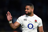 Joe Cokanasiga of England looks on after the match. Guinness Six Nations match between England and Italy on March 9, 2019 at Twickenham Stadium in London, England. Photo by: Patrick Khachfe / Onside Images