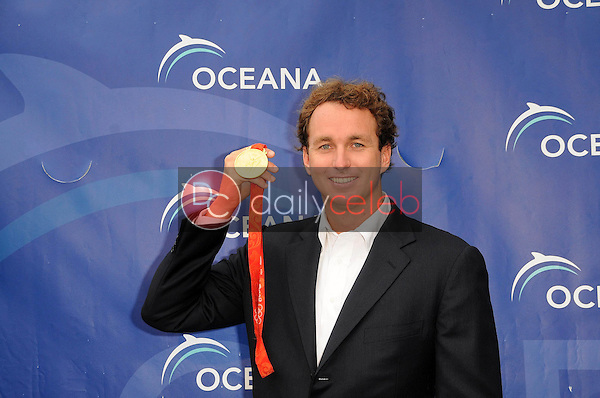 Aaron Peirsol<br />at Oceana's SeaChange Summer Party 2009. Private Residence, Laguna Beach, CA. 08-22-09<br />Dave Edwards/DailyCeleb.com 818-249-4998