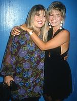 Chastity and Christy Bono<br /> 1992<br /> Photo By Michael Ferguson/CelebrityArchaeology.com