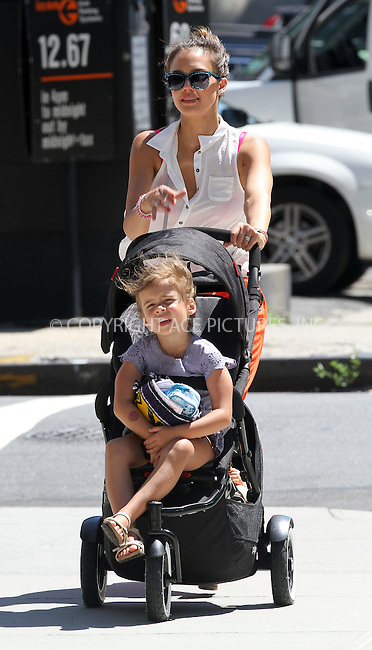 WWW.ACEPIXS.COM....July 24 2012, New York City....Actress Jessica Alba takes her kids Honor and Haven for a stroll around Soho on July 24 2012 in New York City....By Line: Nancy Rivera/ACE Pictures....tel: 646 769 0430..Email: info@acepixs.com..www.acepixs.com