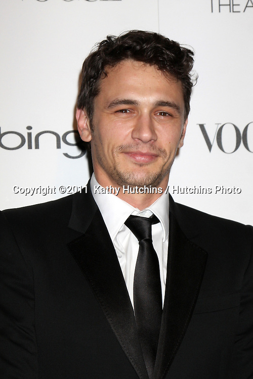LOS ANGELES - JAN 15:  James Franco arrives at the Art Of Elysium 'Heaven' Gala 2011 at The California Science Center Exposition Park  on January 15, 2011 in Los Angeles, CA