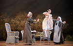 ONEGUINE..Choregraphie : CRANKO John.Mise en scene : CRANKO John.Compositeur : TCHAIKOVSKI Piotr Ilyitch.Decor : ROSE Jurgen.Lumiere : BJARKE Steen.Costumes : ROSE Jurgen.Avec :.OULD BRAHAM Myriam.MARTEL Beatrice.REICHERT Ghyslaine.Lieu : Opera Garnier.Ville : Paris.Le : 15 04 2009.© Laurent PAILLIER CDDS Enguerand