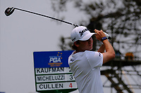 Smylie Kaufman (USA) on the 3rd tee during round 2 of the Australian PGA Championship at  RACV Royal Pines Resort, Gold Coast, Queensland, Australia. 20/12/2019.<br /> Picture TJ Caffrey / Golffile.ie<br /> <br /> All photo usage must carry mandatory copyright credit (© Golffile | TJ Caffrey)