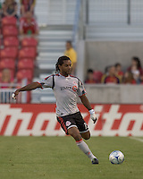 Toronto FC defender Adrian Serioux (15). Salt Lake Real defeated Toronto FC, 3-0, at Rio Tinto Stadium on June 27, 2009.