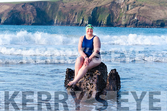 Endurance swimmer Nuala Moore (Dingle) preparing to swim across Cape Horn in Chile.