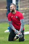 St Johnstone Training&hellip;07.09.17<br />Alan Mannus pictured during training at McDiarmid Park ahead of the home game against Hibs<br />Picture by Graeme Hart.<br />Copyright Perthshire Picture Agency<br />Tel: 01738 623350  Mobile: 07990 594431