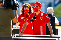 30th July 2020, Silverstone, Northampton, UK; FIA Formula One World Championship 2020, Grand Prix of Great Britain,  16 Charles Leclerc MCO, Scuderia Ferrari Mission Winnow, Silverstone Great Britain