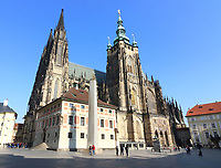Prague Castle and St Vitus Cathedral, Prague, Czech Republic on February 28th to March 3rd 2018<br /> CAP/ROS<br /> &copy;ROS/Capital Pictures